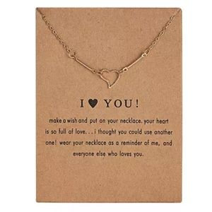 Jewelry - NEW!! 💖 I heart you Necklace